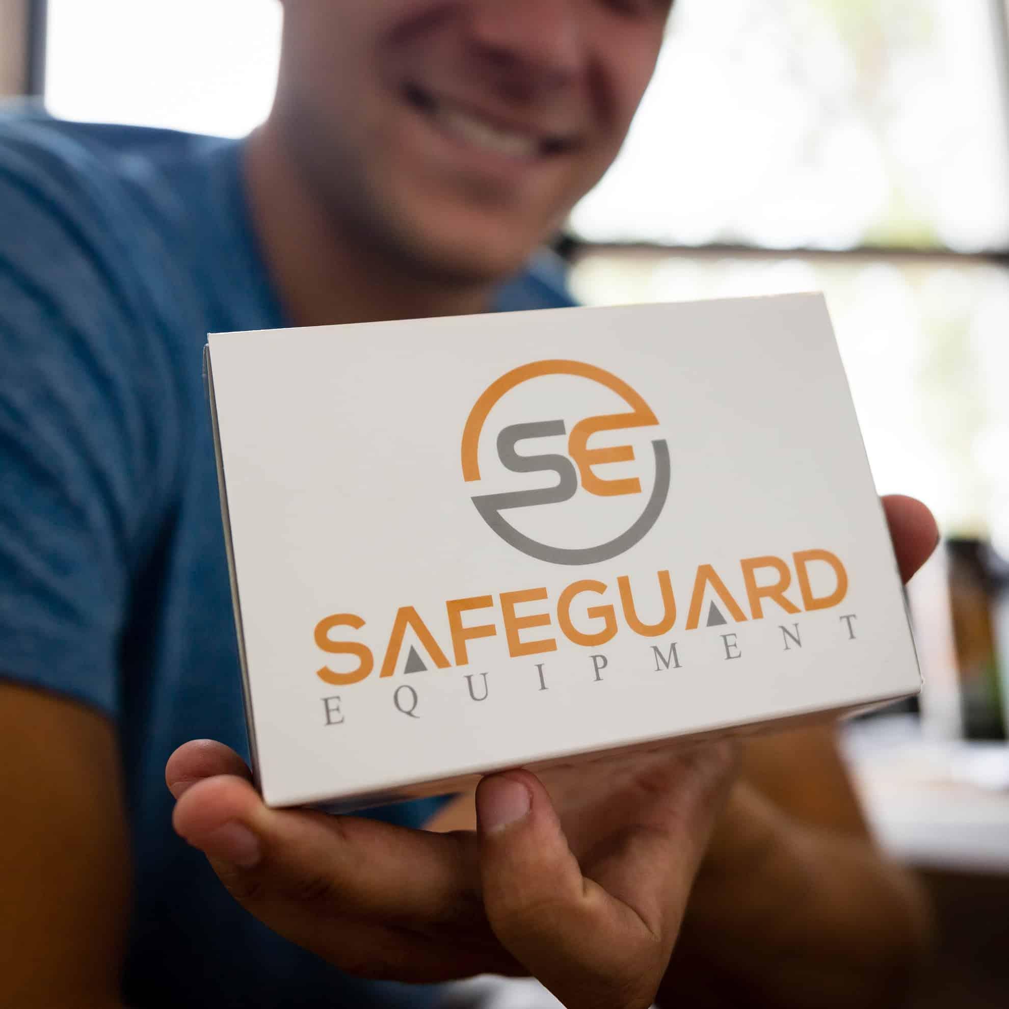 Brandon Bledsoe with Safeguard Equipment