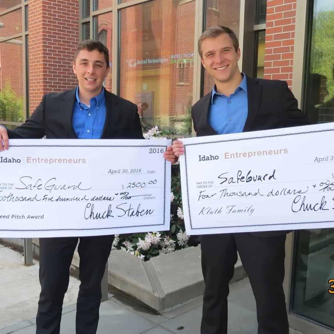 Idaho Entrepreneurs Award to Brandon Bledsoe and Tim Ledford