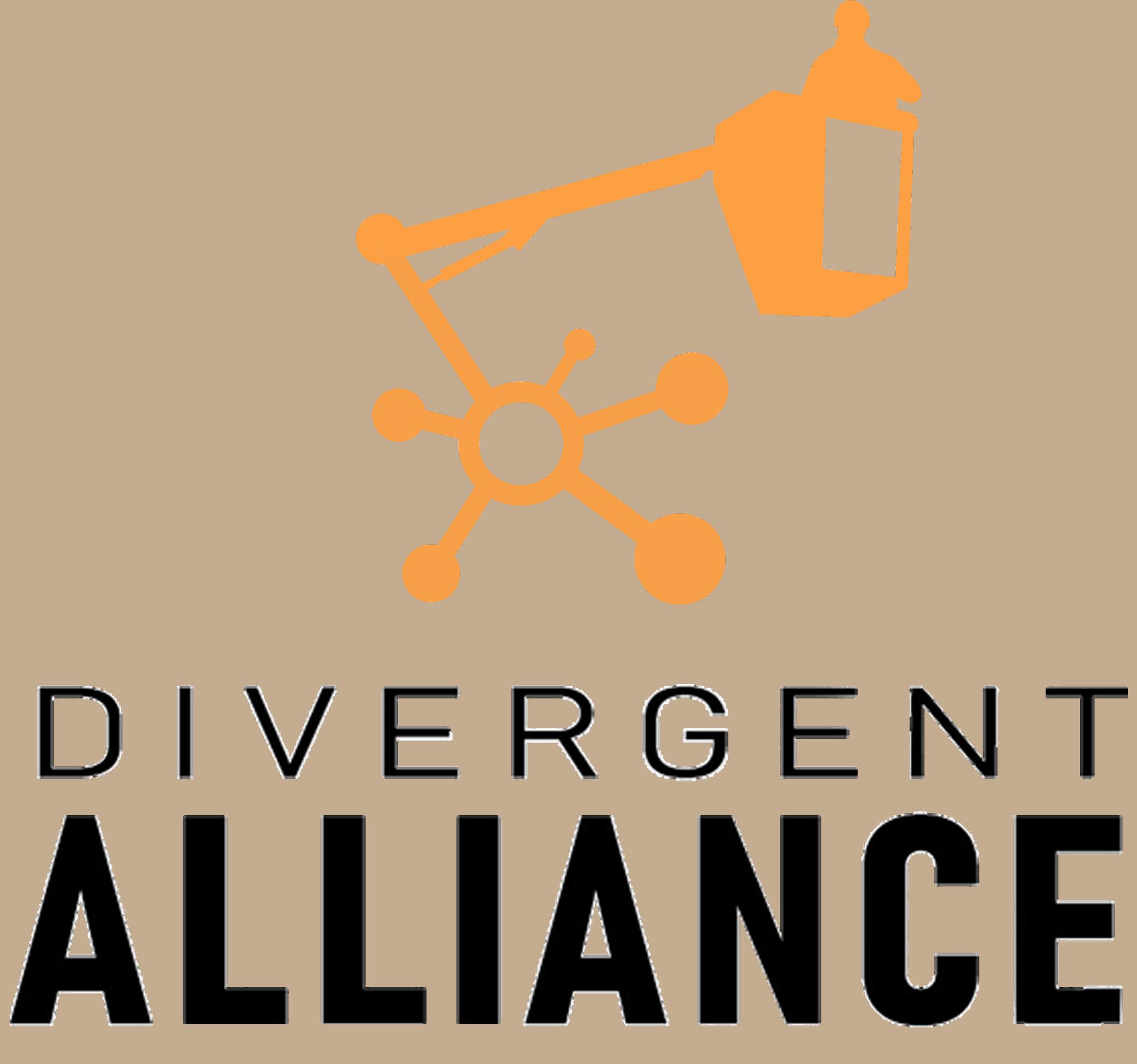 Divergent Alliance logo black